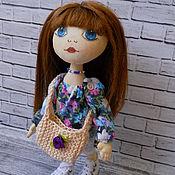 Куклы и игрушки ручной работы. Ярмарка Мастеров - ручная работа Текстильная Интерьерная Игровая Кукла. Handmade.