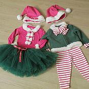 Работы для детей, ручной работы. Ярмарка Мастеров - ручная работа Карнавальный костюм Новогодний Эльф или Гномо. Handmade.