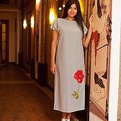 Одежда ручной работы. Ярмарка Мастеров - ручная работа Стильное платье арт.1112. Handmade.