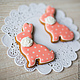 Gingerbread 'Heart Bunny'. Gingerbread Cookies Set. prynik. Online shopping on My Livemaster.  Фото №2