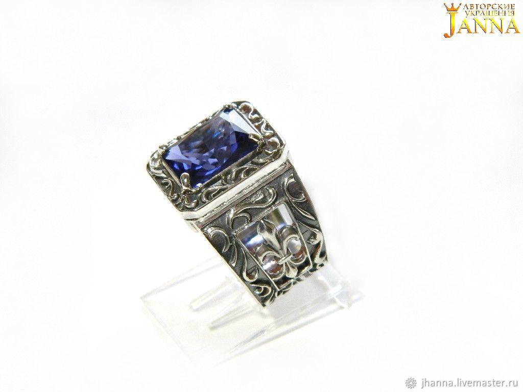 TANZANITE. ' Manuel ' ring with tanzanite, Ring, Volgograd,  Фото №1