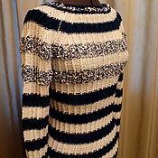 Одежда ручной работы. Ярмарка Мастеров - ручная работа Пуловер Вержей. Handmade.