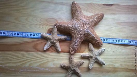 Аппликации, вставки, отделка ручной работы. Ярмарка Мастеров - ручная работа. Купить Морская звезда 2. Handmade. Бежевый, море