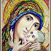 Картины и панно ручной работы. Ярмарка Мастеров - ручная работа Картина образа Касперовской Божьей Матери. Handmade.
