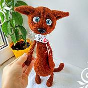 Куклы и игрушки handmade. Livemaster - original item Cat Mushroom (for ops. Julia Saenko). Handmade.