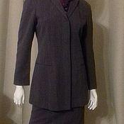 Одежда винтажная ручной работы. Ярмарка Мастеров - ручная работа Calvin Klein Костюм шерсть. Handmade.