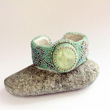 Decorations handmade. Livemaster - original item Bracelet with natural stone