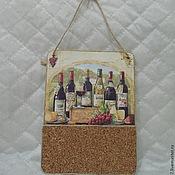 """Картины и панно ручной работы. Ярмарка Мастеров - ручная работа Кухонное панно """"Винный погребок"""". Handmade."""