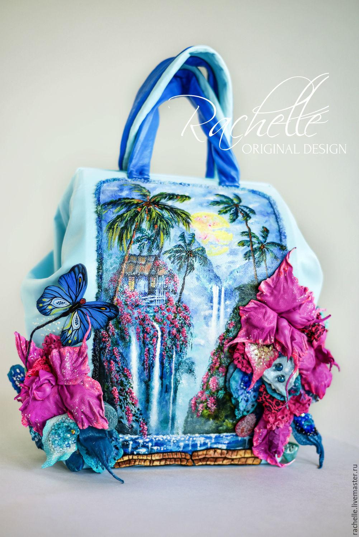 Сумка Гавайские ночи, Классическая сумка, Рига,  Фото №1