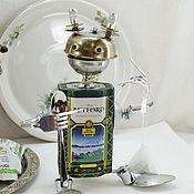 Для дома и интерьера ручной работы. Ярмарка Мастеров - ручная работа Чайный Робот. Банка для хранения чая.. Handmade.