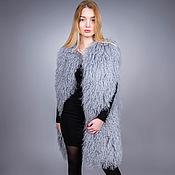 Одежда handmade. Livemaster - original item vests: vest fur Lama. Handmade.