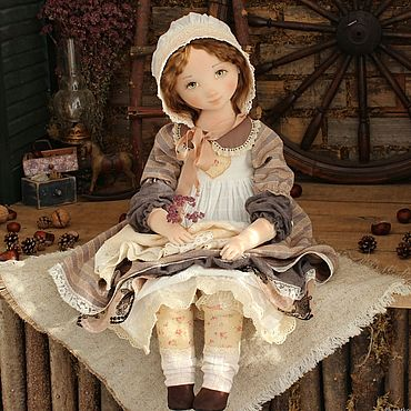Dolls & toys handmade. Livemaster - original item Doll: Maria is a collectible textile interior doll. Handmade.