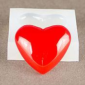 Материалы для творчества ручной работы. Ярмарка Мастеров - ручная работа Молд силиконовый Сердце 19х21х5 мм. Handmade.