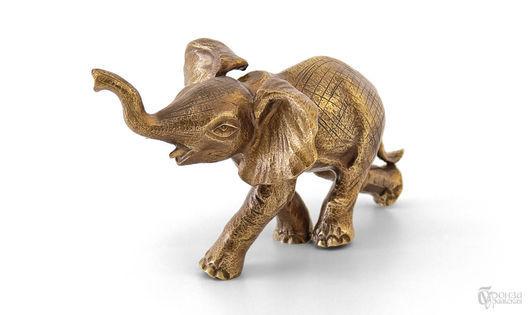 Статуэтки ручной работы. Ярмарка Мастеров - ручная работа. Купить Слон №6. Handmade. Слон, слоники, семь слоников, статуэтки