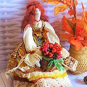 Куклы и игрушки ручной работы. Ярмарка Мастеров - ручная работа кукла тильда текстильная, интерьерная. Handmade.