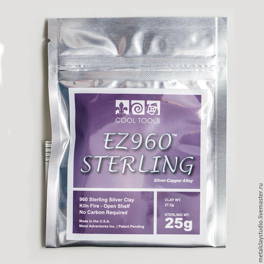Другие виды рукоделия ручной работы. Ярмарка Мастеров - ручная работа. Купить Серебро EZ960 Sterling (27,2г глины, 25г. металл). Handmade.