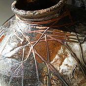 Для дома и интерьера ручной работы. Ярмарка Мастеров - ручная работа Коллекционная ваза раку. Handmade.