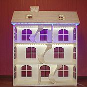 Куклы и игрушки handmade. Livemaster - original item Dollhouse, for the beloved daughter. Handmade.