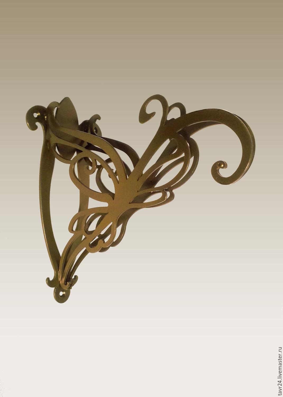 Bracket for wall colors 'yuna 200' in dark bronze, Suspension, St. Petersburg,  Фото №1