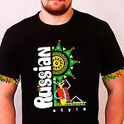 T-shirts handmade. Livemaster - original item T-shirt RS Rabbit holidays. Handmade.