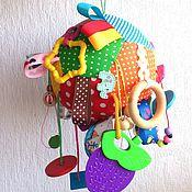 Куклы и игрушки ручной работы. Ярмарка Мастеров - ручная работа Развивающая игрушка (мяч). Handmade.