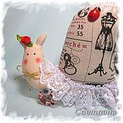 Куклы и игрушки ручной работы. Ярмарка Мастеров - ручная работа Улитка - тильда (интерьерное украшение). Handmade.