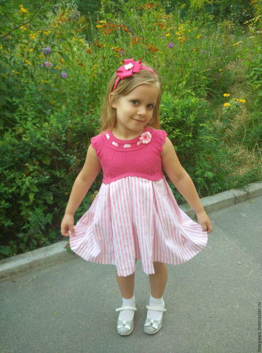 """Одежда для девочек, ручной работы. Ярмарка Мастеров - ручная работа. Купить Платье """"Барби"""". Handmade. Розовый, Платье нарядное"""