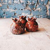 Посуда ручной работы. Ярмарка Мастеров - ручная работа Стаканы-гранаты. Handmade.