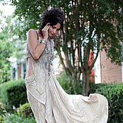 """Одежда ручной работы. Ярмарка Мастеров - ручная работа Платье ручной работы """"для Богини"""". Handmade."""