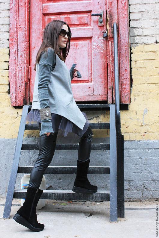 Шерстяной пиджак модный
