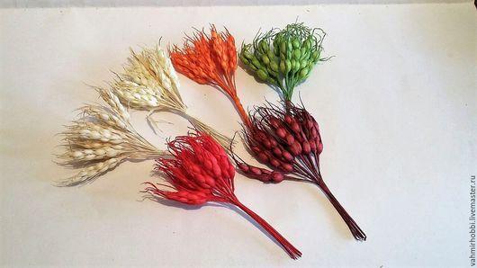 Другие виды рукоделия ручной работы. Ярмарка Мастеров - ручная работа. Купить Связка Пшенички 12 шт  ассорти ( 12 см). Handmade.