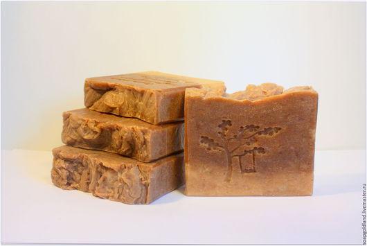 """Мыло ручной работы. Ярмарка Мастеров - ручная работа. Купить """"Шелковая ваниль"""" натуральное мыло-скраб с нуля.. Handmade."""