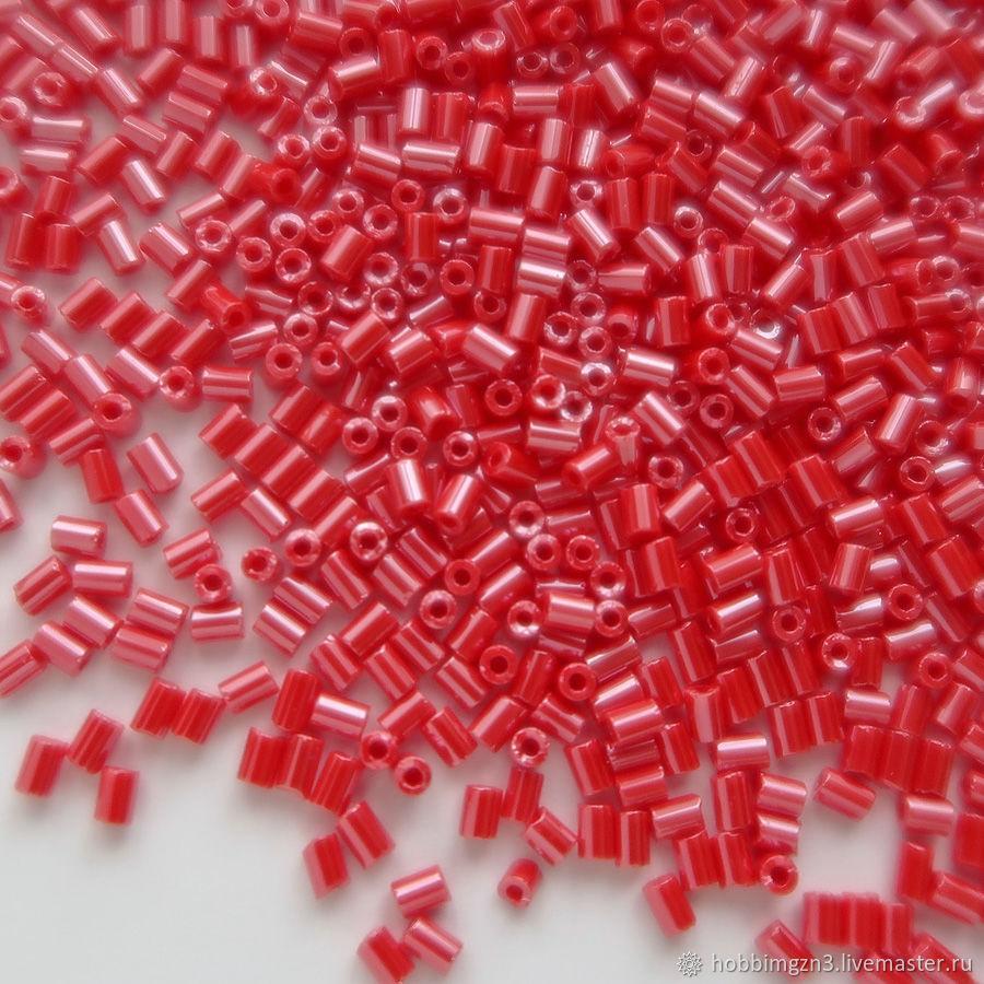 Для украшений ручной работы. Ярмарка Мастеров - ручная работа. Купить Бисер рубка PRECIOSA Чехия 2мм красный 98190 #156. Handmade.