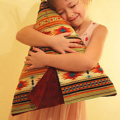 Для дома и интерьера handmade. Livemaster - original item Wigwam Pillow. Handmade.