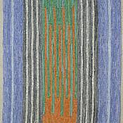 """Для дома и интерьера ручной работы. Ярмарка Мастеров - ручная работа Половик тканый """"Гребенка"""". Handmade."""