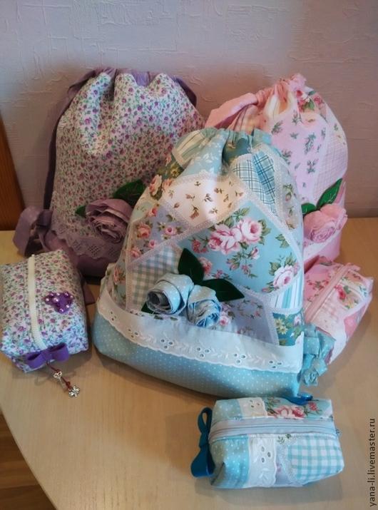 Женские сумки ручной работы. Ярмарка Мастеров - ручная работа. Купить рюкзачки из хлопка для девочек, мальчиков и их мам. Handmade.