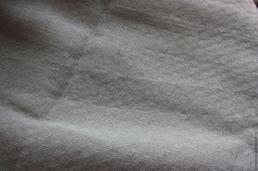 Шитье ручной работы. Ярмарка Мастеров - ручная работа. Купить РАПРОДАЖА!!! Ткань декоративная ЧАРЛИ. Handmade. Белый, льняная ткань
