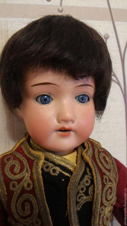 Винтажные куклы и игрушки. Ярмарка Мастеров - ручная работа. Купить Антикварная кукла АМ 390 мальчик 32 см, национальный костюм. Handmade.