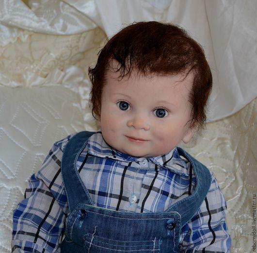 Куклы-младенцы и reborn ручной работы. Ярмарка Мастеров - ручная работа. Купить Кукла реборн мальчик тоддлер. Handmade.