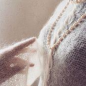 Одежда ручной работы. Ярмарка Мастеров - ручная работа Кофточка Пломбир. Handmade.