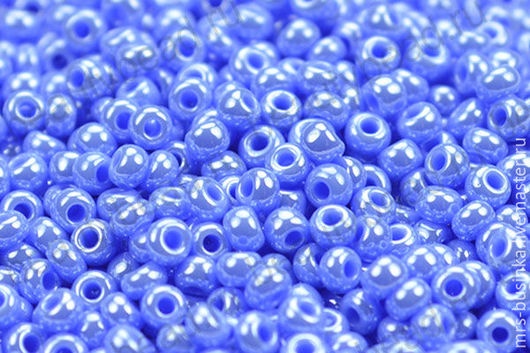 Для украшений ручной работы. Ярмарка Мастеров - ручная работа. Купить Бисер чешский Preciosa 38020 сине-голубой 10/0, 50 гр. Handmade.