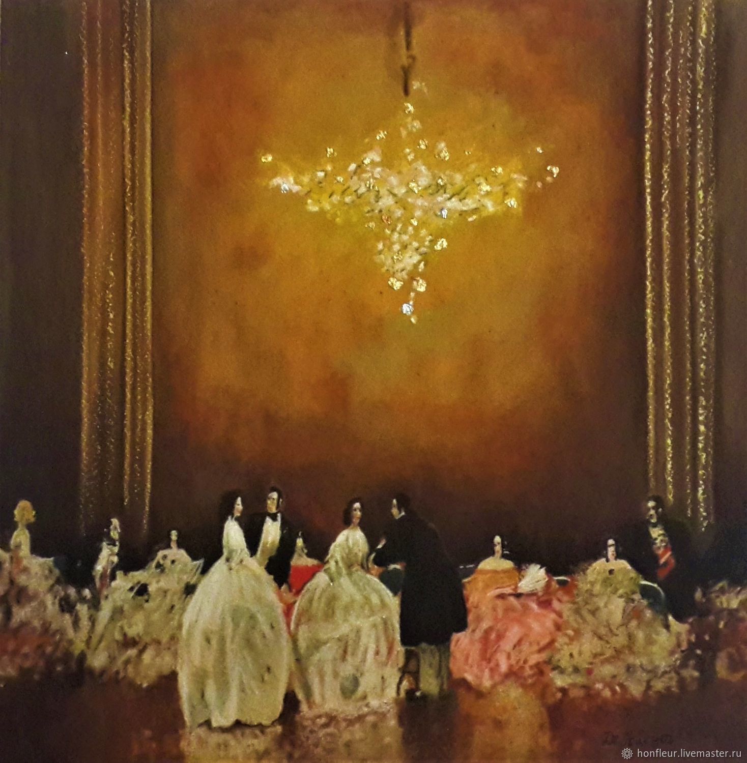 Picture: Ballroom scene, Pictures, Moscow,  Фото №1