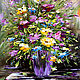 Oil painting Bouquet of freshness, Pictures, Moscow,  Фото №1