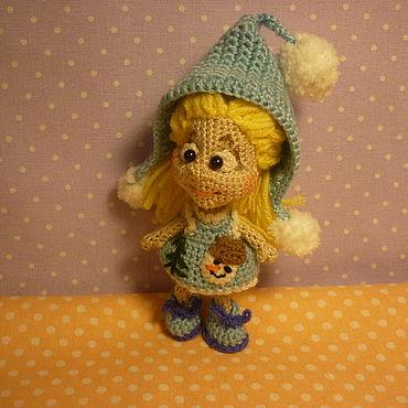 Куклы и игрушки ручной работы. Ярмарка Мастеров - ручная работа Игрушки: Кукла ЮЛЬКА. Handmade.