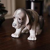 Винтаж handmade. Livemaster - original item LLADRO rare statuette sad puppy 1988, Spain. Handmade.