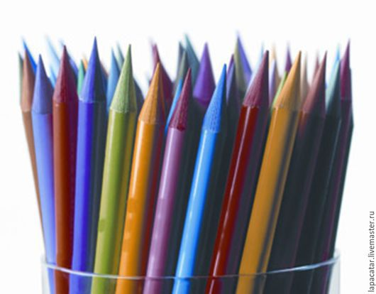 Другие виды рукоделия ручной работы. Ярмарка Мастеров - ручная работа. Купить Акварельные карандаши без деревянного корпуса по штучно Creta Color. Handmade.