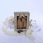 Для дома и интерьера handmade. Livemaster - original item Pincushion - book the Keys of Paris.. Handmade.