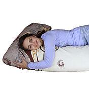 Для дома и интерьера ручной работы. Ярмарка Мастеров - ручная работа Подушка Нежность для беременных и кормления младенца. Handmade.