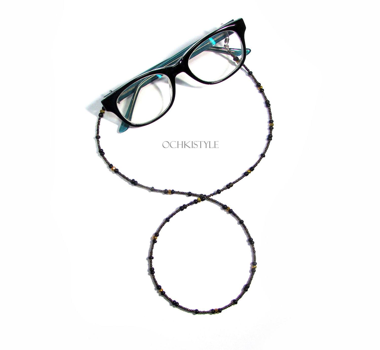 Очки ручной работы. Ярмарка Мастеров - ручная работа. Купить Цепочка для очков №21  Украшение на очки. Handmade. Очки
