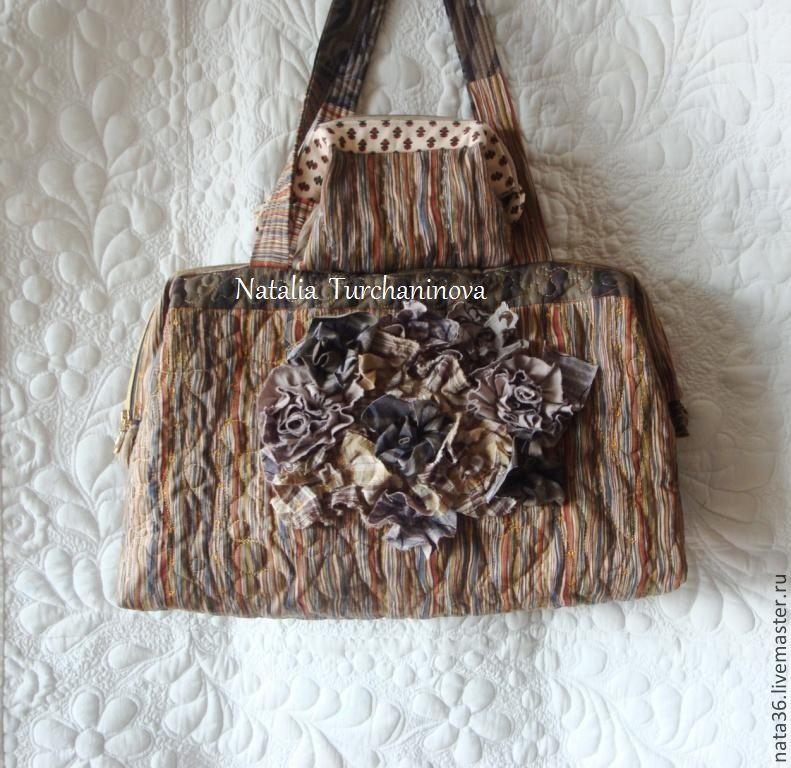 Bag handmade, Favorite series ` No. 3 :  length - 47 cm height - 29 cm, width 14 cm  Price - 5550 RUB